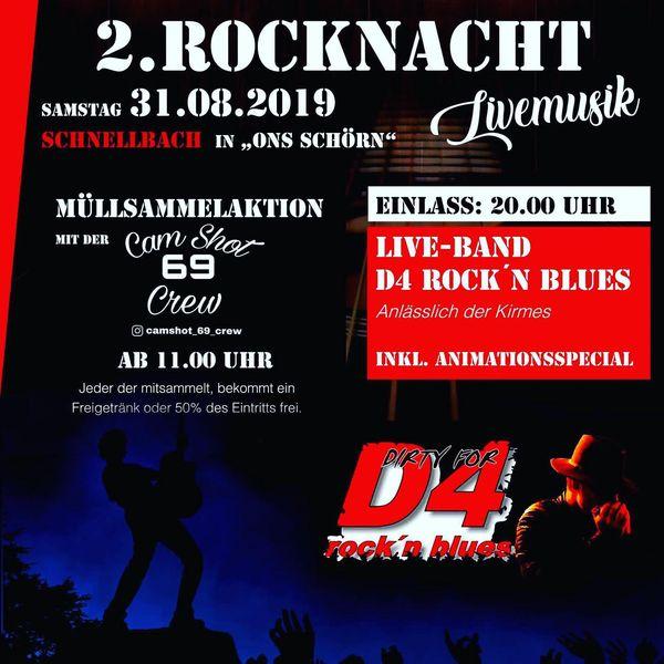 2. Rocknacht Schnellbach